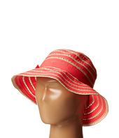 San Diego Hat Company Kids - RBK3080 Kids Ribbon And Paper Straw Bucket Hat (Little Kids)