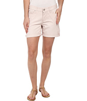 DKNY Jeans - Stripe Rolled Shorts in Soft Blush