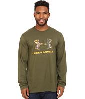 Under Armour - Camo Fill Logo Long Sleeve Tee