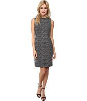 Calvin Klein - Two-Tone Sheath Dress w/ Piping
