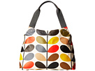 Matt Laminated Classic Multi Stem Classic Zip Shoulder Bag