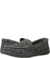 Crocs - Walu Leopard Leather Loafer