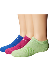 Nike Kids - Lightweight Cotton Cushion No Show 3-Pair Pack (Toddler/Little Kid/Big Kid)