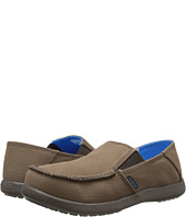 Crocs Kids - Santa Cruz Canvas Loafer (Little Kid/Big Kid)