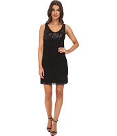 Aidan Mattox - Sequin Tank Dress with Flapper Fringe