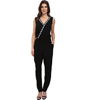 Vince Camuto - Sleeveless Jumpsuit w/ Embroidery