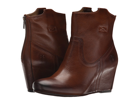 Frye Carson Wedge Womens Bootie
