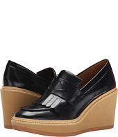 See by Chloe - Fringed Moc On A Wedge Lug Sole