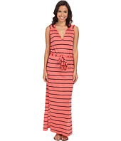 Three Dots - Belted Maxi Dress