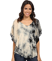 Miraclebody Jeans - Lisa Flutter Sleeve Top w/ Body-Shaping Inner Shell