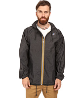 K-WAY - Claude Waterproof Heathered Jacket w/ Hood