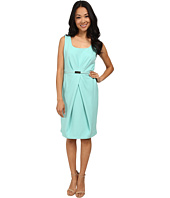Jones New York - Pleat Waist Sleeveless Dress