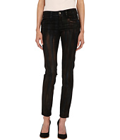 Just Cavalli - Painted Metallic Brushstroke Denim in Black Denim