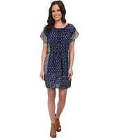 Lucky Brand - Indigo Floral Dress