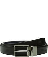 Lacoste - Premium Reversible Leather Nickel Embossed Croc Belt