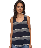 Lucky Brand - Striped Cross Back Tank Top