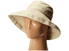 Cotton Big Brim Sun Hat with Inner Drawstring