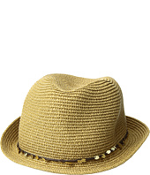 Tommy Bahama - Paper Braid Fedora with Sequins Trim