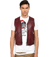 DSQUARED2 - Side Laces Leather Vest