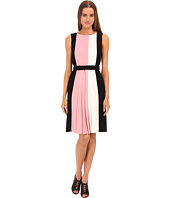 Kate Spade New York - Color Block Pleated Dress