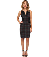 NYDJ - Aubrey Printed Plaid Dress