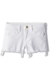 Blank NYC Kids - Cut Off Shorts in White Lines (Big Kids)