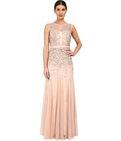 Adrianna Papell - Beaded Illusion Gown (Prom)