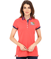 U.S. POLO ASSN. - Patch and Embroidered Embellished Polo