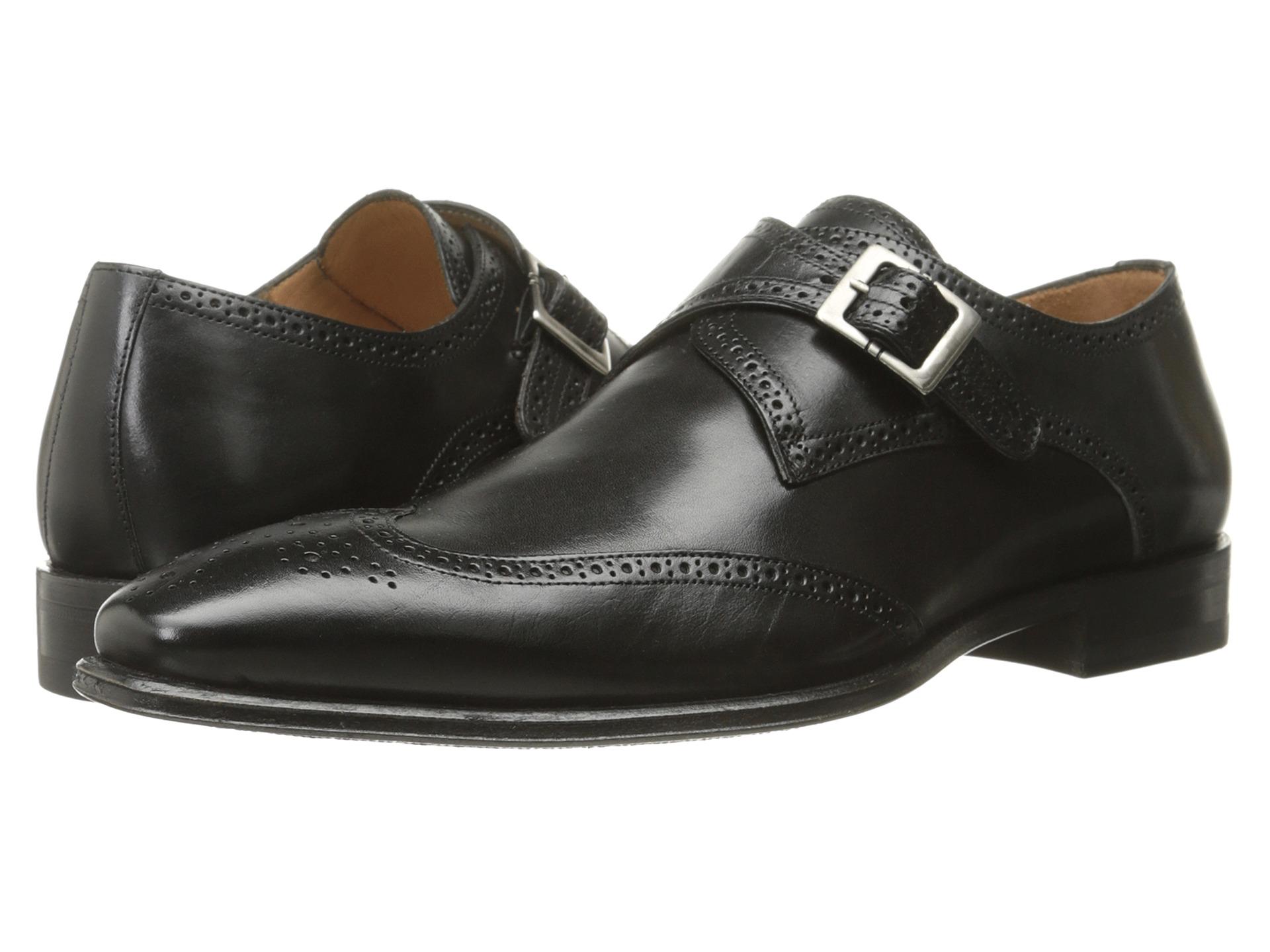 59adead95f9 Mezlan Men s VITORIA Fashion Monkstrap French Calf BLACK Shoes 5985 ...