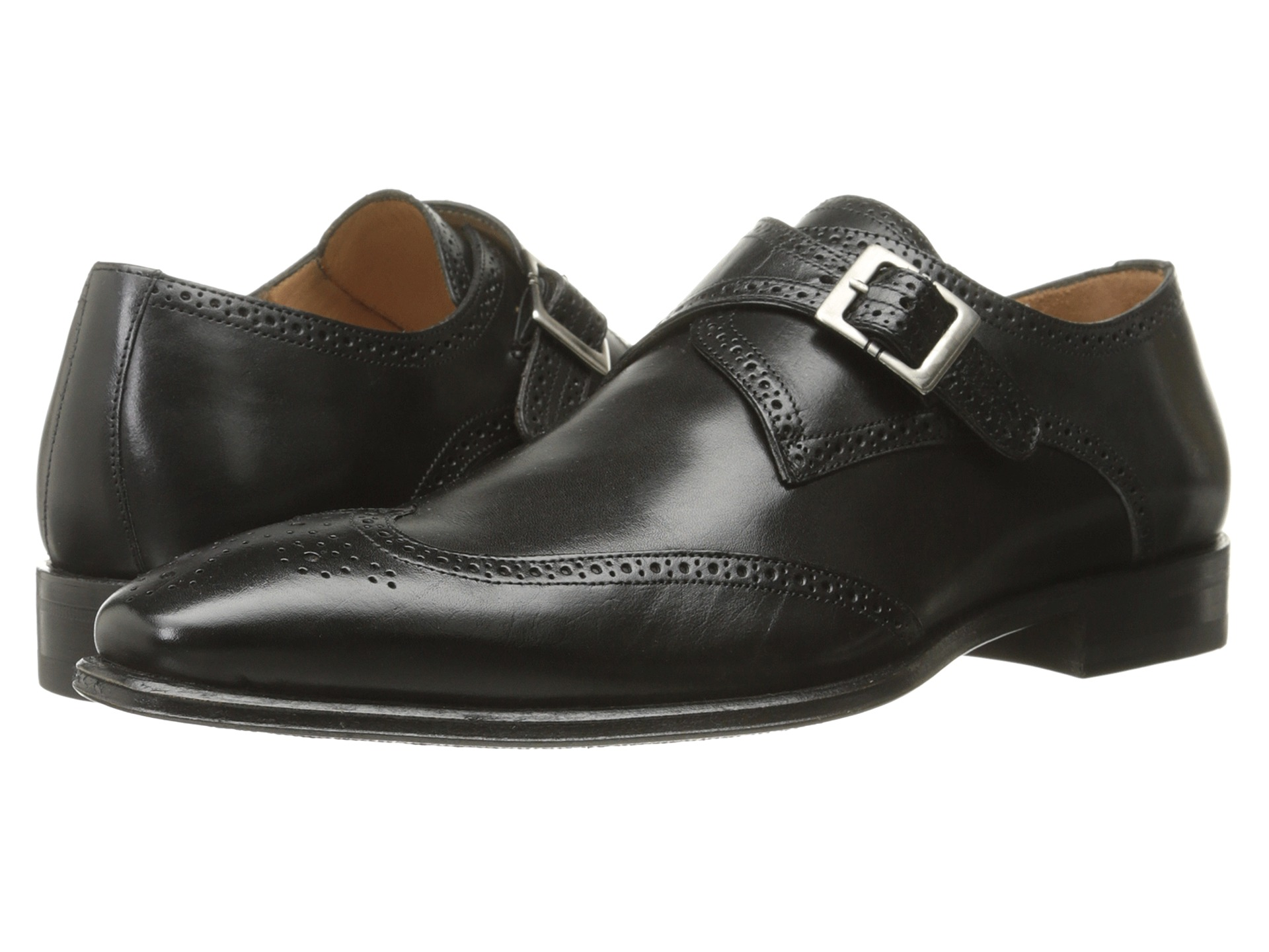 Black Shoes Mezlan Men/'s Toulon Calf Slip-On