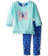 Hatley Kids - Long Sleeve Tee & Leggings Set - Icy Butterflies (Infant)