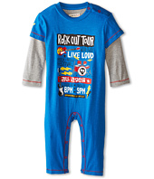 Hatley Kids - Graphic Romper - Rock Band (Infant)