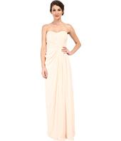 Badgley Mischka - Strapless Gown with Slit