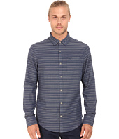 Original Penguin - Dobby W. Horizontal Striped Long Sleeve Woven Heritage Shirt