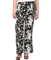 Mynt 1792 - Plus Size Printed Wide Leg Pants