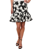 Nicole Miller - Palm Medley Ruffle Bottom Skirt