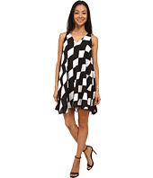 Sam Edelman - Full Double V Shift Dress