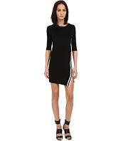 Neil Barrett - Stripes Asymmetric Dress