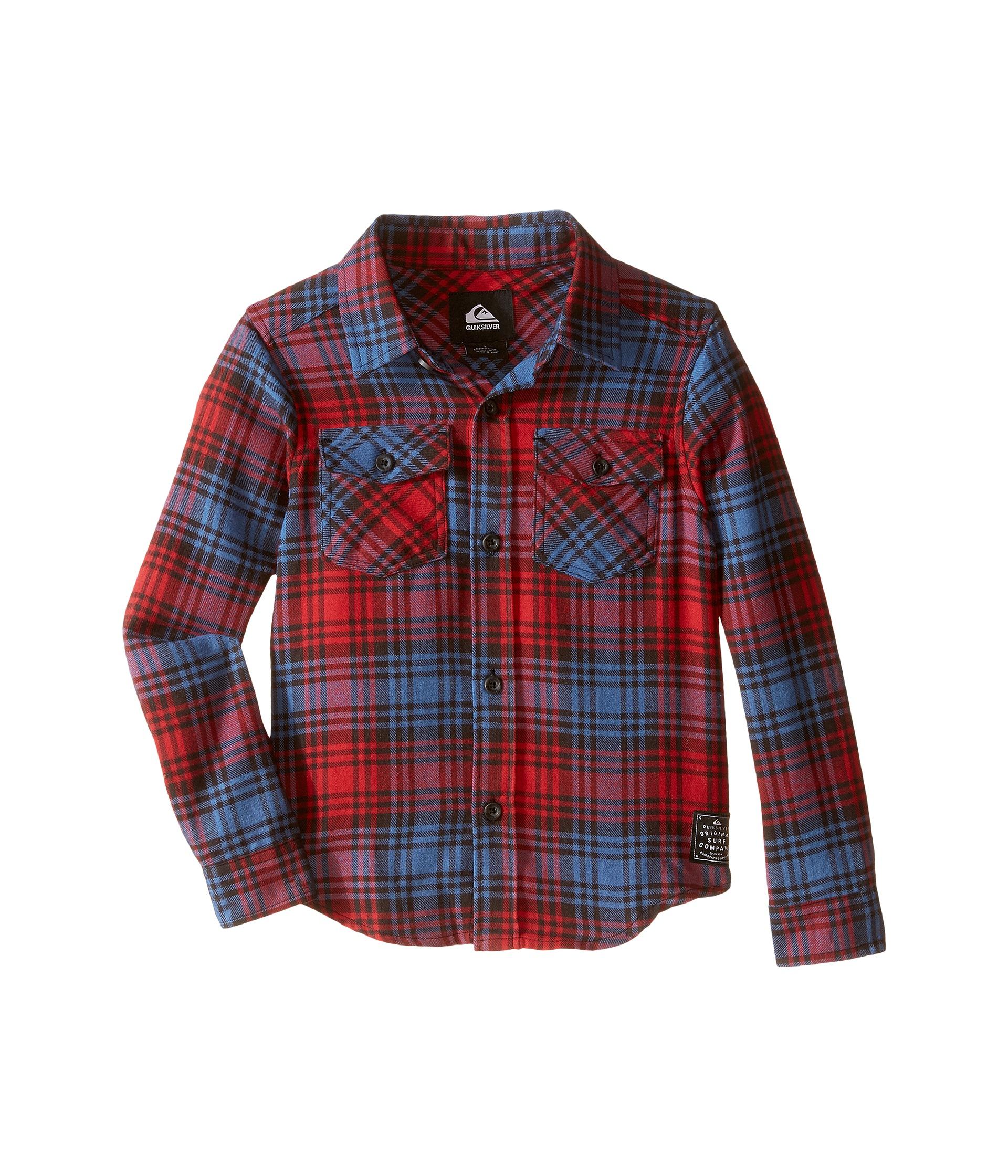 Quiksilver Kids Everyday Flannel Shirt (Toddler/Little Kids)