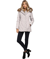 Jessica Simpson - Quilted Down with Faux Fur Trim