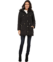 Cole Haan - Down Anorak with Faux Fur Trimmed Hood