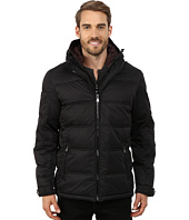 Perry Ellis - Poly Zip Front Puffer