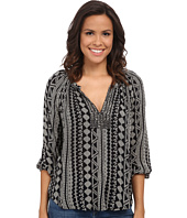 Velvet by Graham & Spencer - Dominica03 African Print Long Sleeve Shirt