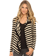 Velvet by Graham & Spencer - Violetta03 Cozy Jersey Stripe Cardigan