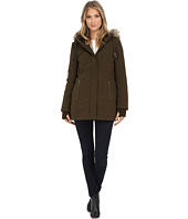 DKNY - Hooded Anorak w/ Faux Fur Collar 46503-Y5