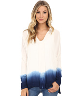 Miraclebody Jeans - Eva Dip Dye Envelope Top w/ Body-Shaping Inner Shell