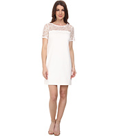 Jessica Simpson - Short Sleeve Lace Knit Combo Dress