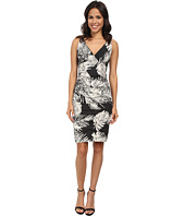 Nicole Miller - Krista Palm Batik Cotton Metal Dress