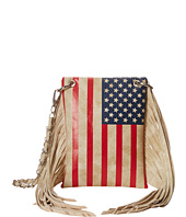 M&F Western - Flag Fringe Crossbody