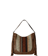 M&F Western - Saddle Blanket Fringe Large Shoulder Bag